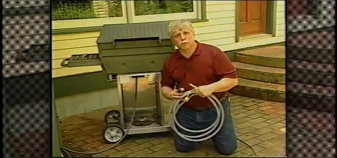 how to convert a propane grill to natural gas kitchen utensils u0026 equipment wonderhowto - Natural Gas Grill