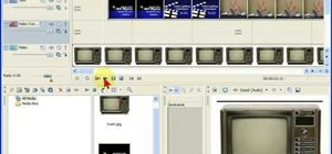 Do video overlay in Sony Vegas Movie Studio