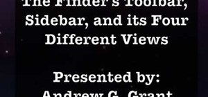 Use Finder in Mac OS 10.5