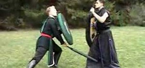 Fight a left handed opponent in boffer combat