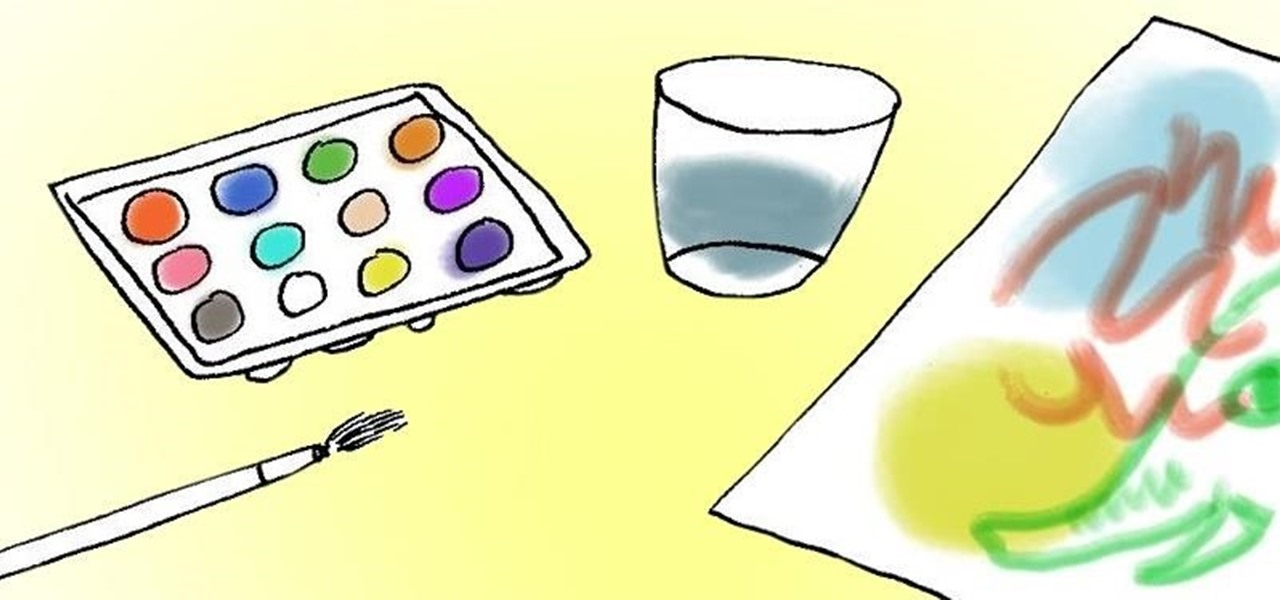 Make a Homemade, Non-Toxic Watercolor Painting Set Using the Stuff in Your Kitchen