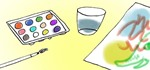 How to Make a Homemade, Non-Toxic Watercolor Painting Set Using the Stuff in Your Kitchen