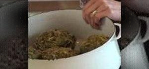 Make delicious stuffed artichokes
