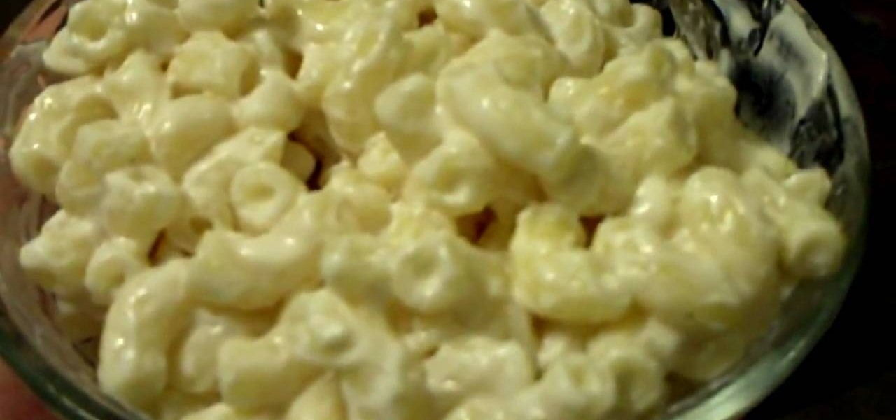How To Make Macaroni Salad With Extra Mayonnaise Salads Wonderhowto