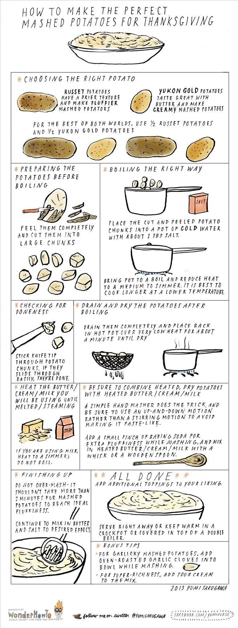How to Make Perfect Mashed Potatoes on Thanksgiving