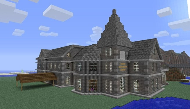 Mount Falcon Manor House In Minecraft Minecraft