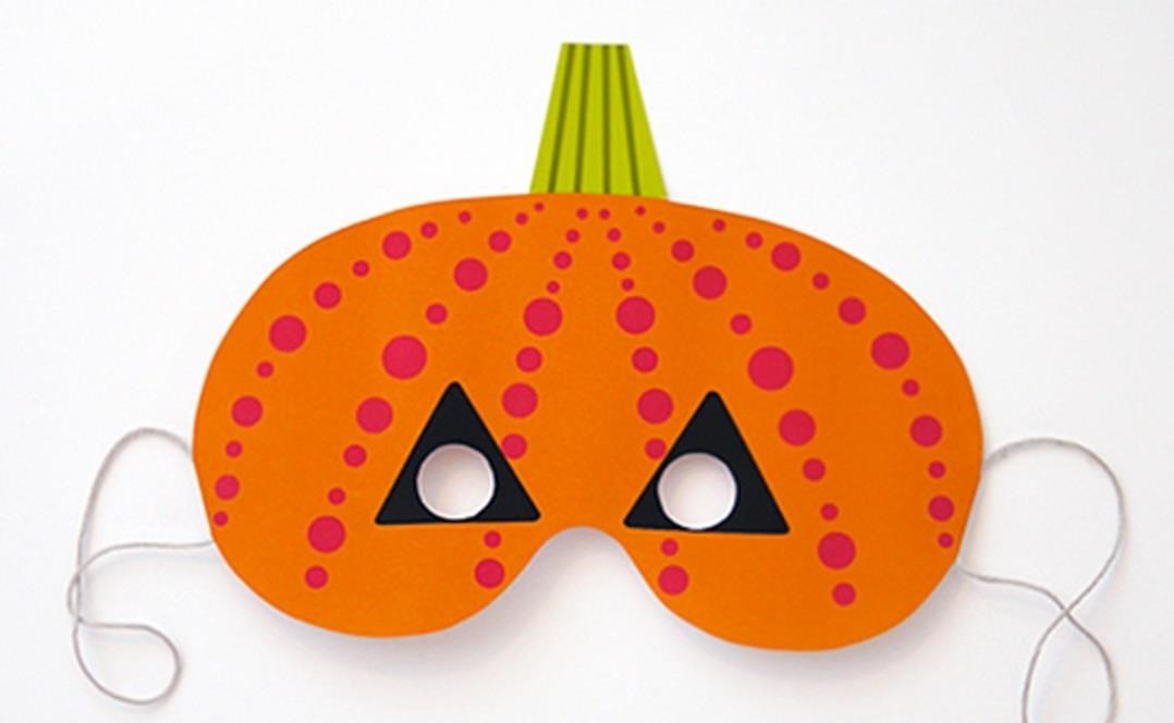 Last-Minute Halloween Quickie: 100+ Free Printable Masks