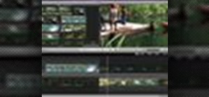 Trim edits between video clips in iMovie '09