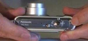 Use the Panasonic DMC FX10 digital camera