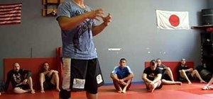 Properly position yourself when standing up and grappling in MMA
