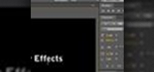 Practice typesetting basics in After Effects 4