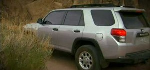 Use the T.C. electronic dial on a 2010 Toyota 4Runner