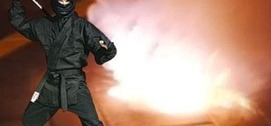 how to make a ninja smoke bomb with household items