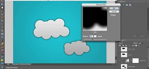 Draw cartoon clouds in Photoshop