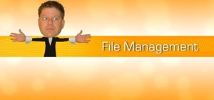 Use the file management features in MAXON Cinema 4D