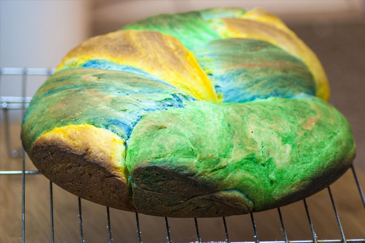 How to Make Super Colorful Bread for One-of-a-Kind Ice Cream Sandwiches