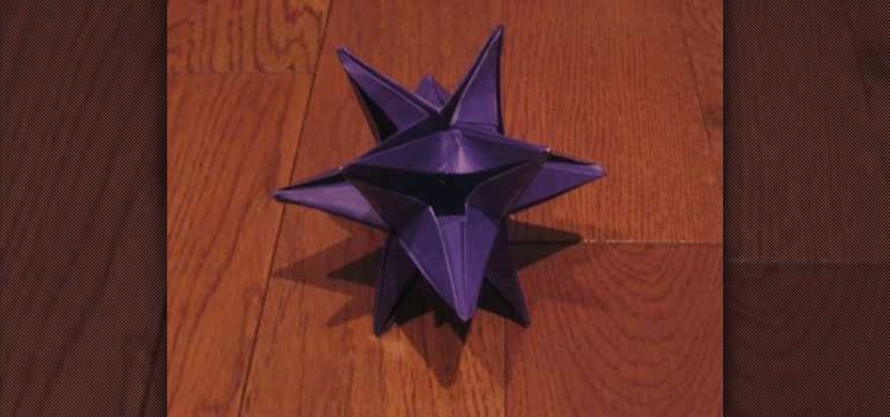 How to Fold an origami Star of David or six pointed star « Origami ... | 600x1280