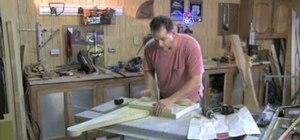 Build a southern pine garden bench