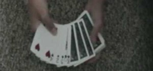 Do the 4 Kings magic card trick