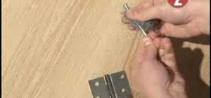 Stop squeaky hinges at home with oil and wire wool