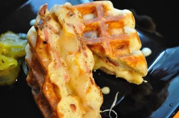8 Delicious Frozen Waffle Food Hacks