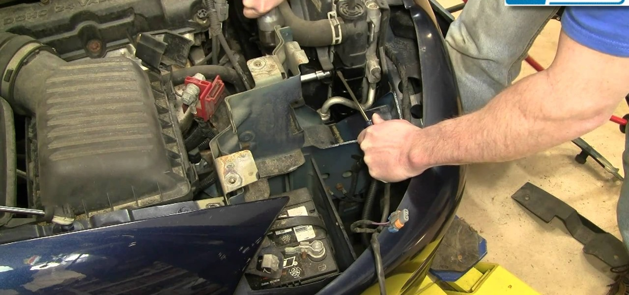 how to replace the radiator cooling fan in a 1998