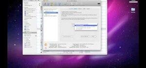 Format a hard drive in Mac OS X Leopard