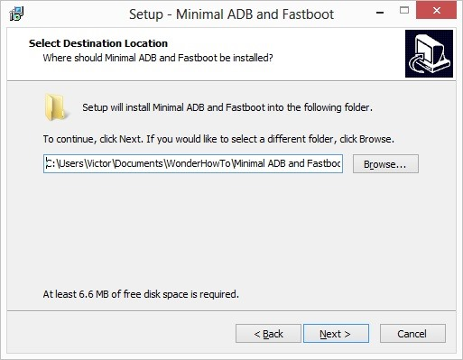 adb windows  without sdka