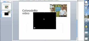 Embed a video into PowerPoint on a Mac