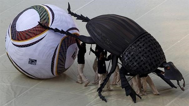 Giant World Cup Dung Beetle