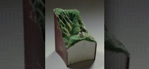 Guy Laramee's Guan Yin Book Sculptures