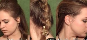 Create three unconventional, edgy hairstyles inspired by Ke$ha