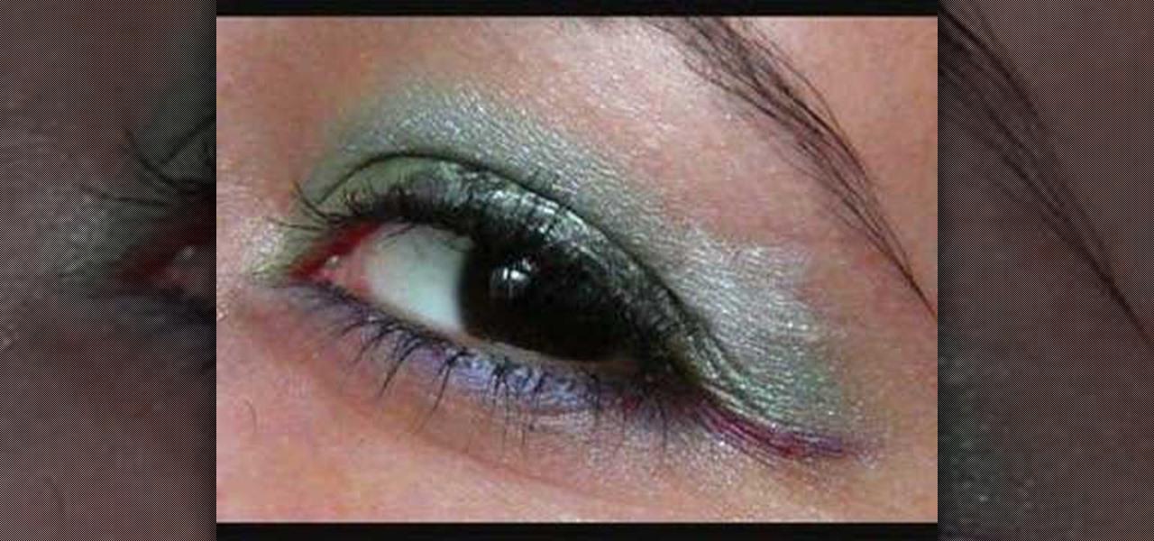 How To Do Ariel Little Mermaid Inspired Eye Make Up Look Makeup WonderHowTo
