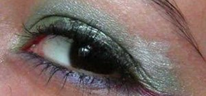 Do Ariel Little Mermaid inspired eye make up look