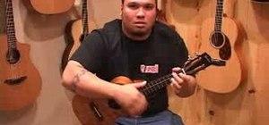 Play advanced ukulele strumming techniques