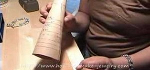 Size a bracelet for jewelry making