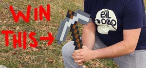 Create the WonderHowTo Mascot in Minecraft by June 27th. WIN: Minecraft Pickaxe!