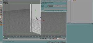 Use the hinge constraint to open a door in RealFlow