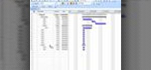 Create summary tasks in MS Project 2007