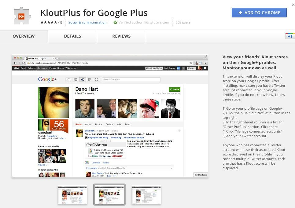 Google Chrome Web Store Gets New Look « Google+ Insider's Guide