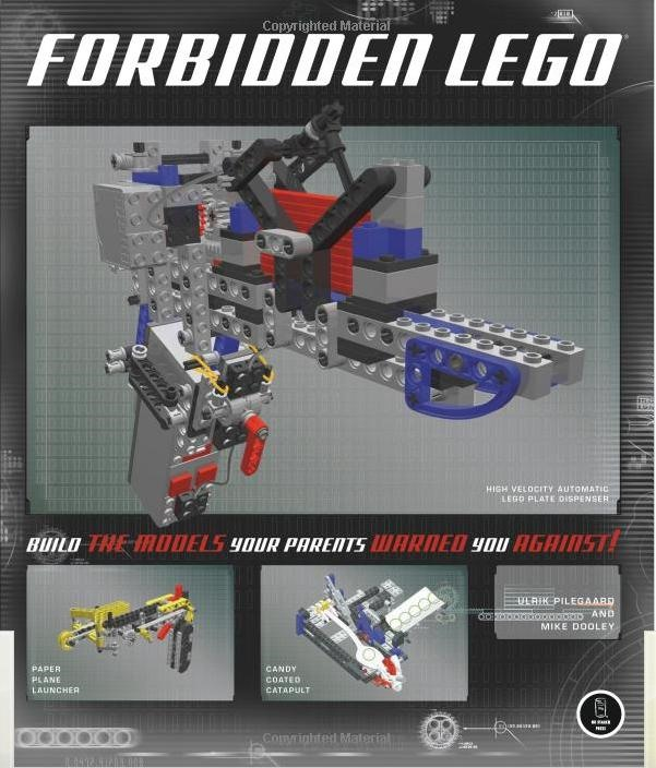 Forbidden LEGO Gun Book