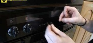 Replace knobs and buttons on a Neff oven