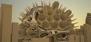 Organic Structures, PVC and Powder Printing, and Architecture