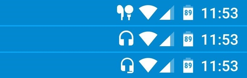 Get a Status Bar Indicator for When You're Using Headphones on Android