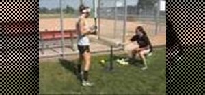 Do a weight shift drill for hitting in softball