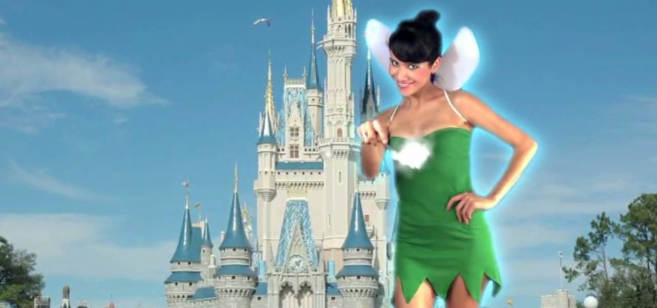 How to make a cheap tinkerbell costume from a t shirt for How to create a t shirt