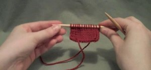Do a continental SSK or slip-slip-knit decrease stitch
