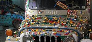 The LEGO Party Jeep