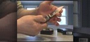 Convert a Boker Kalashnikov into a switchblade knife