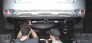 How To Install A Trailer Hitch On 2008 Toyota Highlander